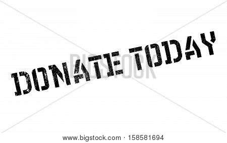 Donate Today Stamp