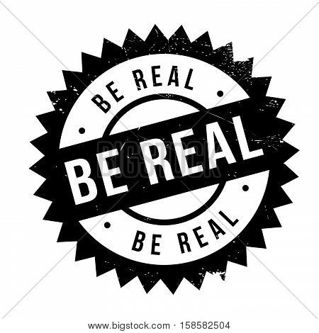 Be Real Stamp