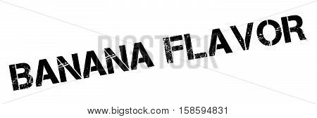Banana Flavor Rubber Stamp
