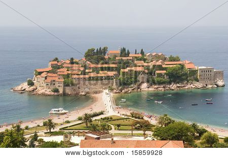 Resort Town In Europe