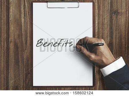 Benefits Income Compensation Advantage Assistance