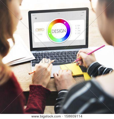 Color Swatch CMYK Design Spectrum Sample