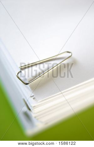 Paperclip In Paperwork