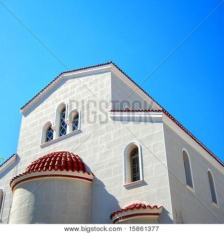 White Church On Crete