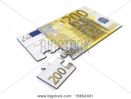 200 Euro Note Puzzle