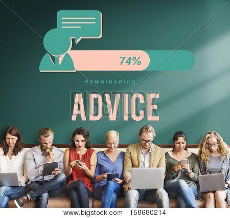 Communication Discussion Connection Advice Information Concept