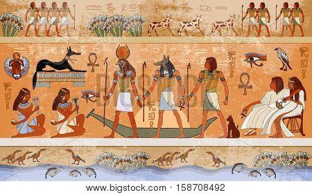 Ancient Egypt scene