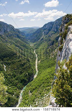 Gorges du Verdon (Alpes-de-Haute-Provence Provence-Alpes-Cote d'Azur France