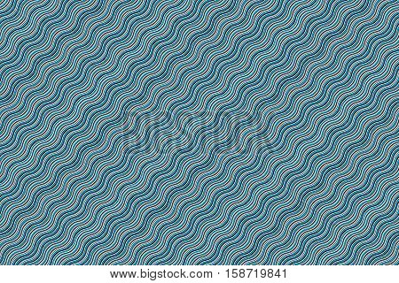 Hypnotic wave seamless background. Vector illustration. Flat design. EPS10.