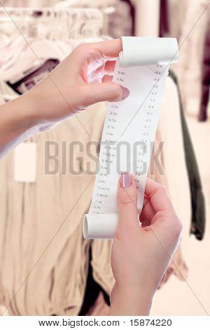 Woman At Shop