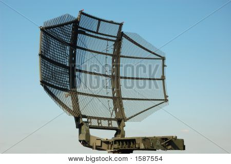 Military Satellite Dish