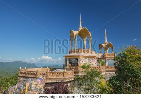 Wat Phra That Pha Son Kaew Temple, Thailand
