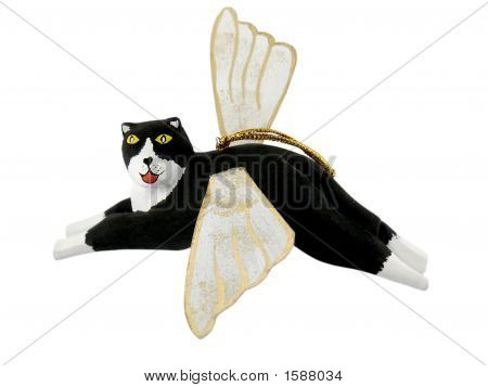 Angel Cat Ornament