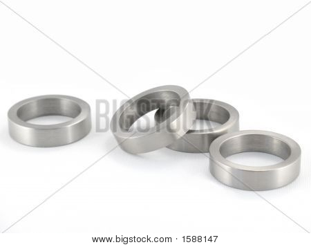 Scattered Metal Rings