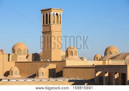 Khan-e Ameriha historic house in Kashan, Iran