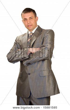 Retrato do empresário bem sucedido
