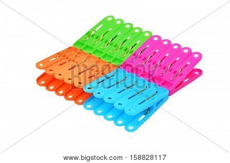 Color Clothes Pegs