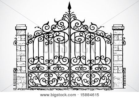 Vector Iron Gate