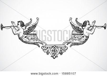 Vector Angel Ornament