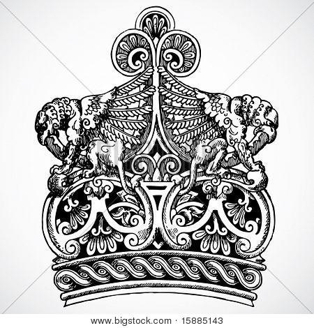 Vector Crown Ornament
