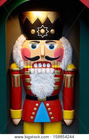 Life sized Christmas holiday Nutcracker statue decoration