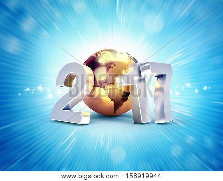 2017 New Year Worldwide Greetings