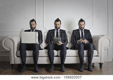 Guy feels like he need two more of himself