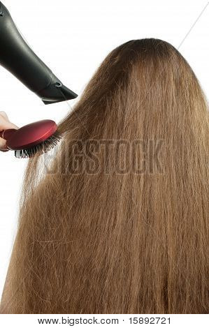 To The Girl With Long Hair Stack Hairdress