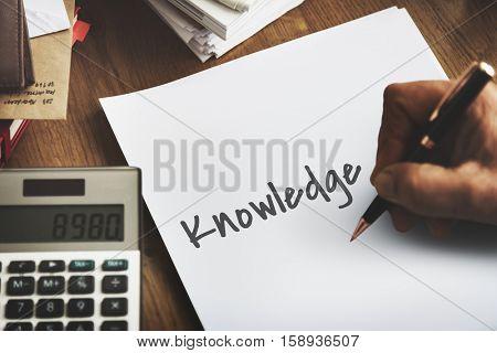 Knowledge Education Intelligence Insight Wisdom Concept