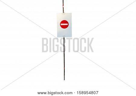 do not enter metal sign, greece, imitos mountain