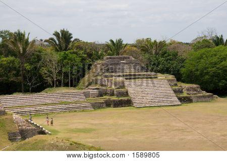 Maya-Ruinen in Altun ha, Belize