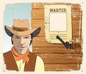 Cowboy And Gun.