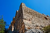 picture of nea  - Ancient ruins of Byzantine fortress in Burch bay nea Simena village - JPG