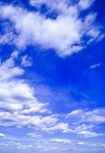 foto of rapture  - The blue sky and beautiful white clouds - JPG