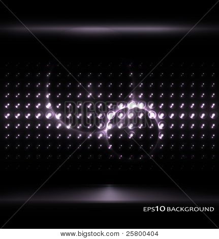Vector monochrome background