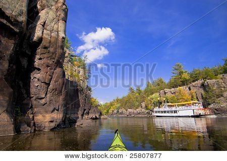 Kayak And Paddleboat
