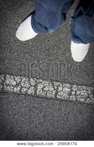 Cross The Line?