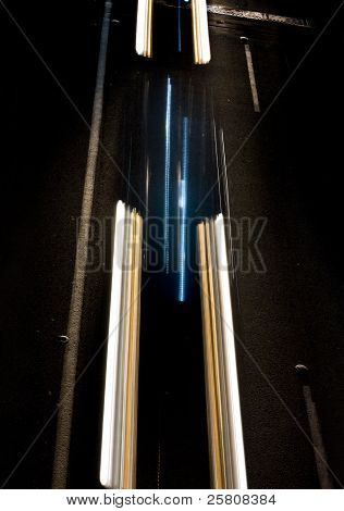 Moving Light Trails