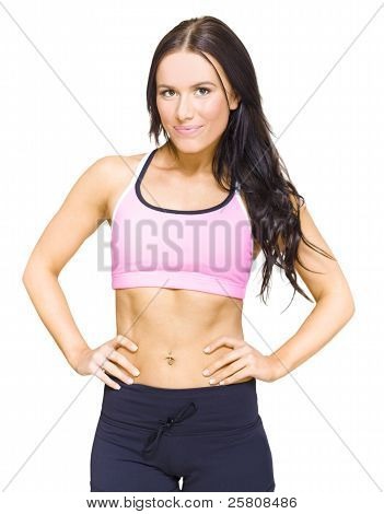 Female Gym Personal Fitness Trainer Or Instructor