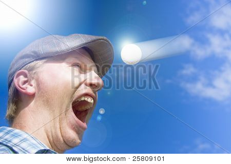 Screaming Golfer