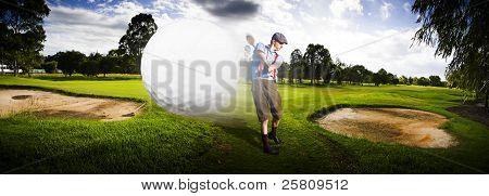 Vôo superior Golf