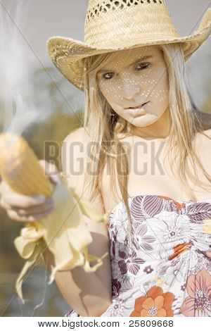 Country And Western Corn Slinger
