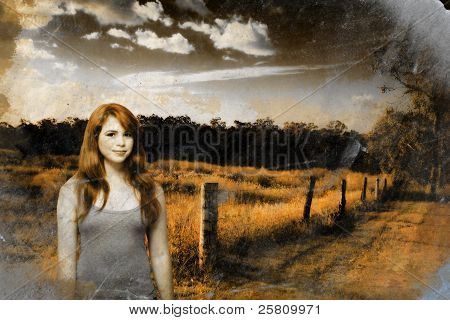 Young Country Girl