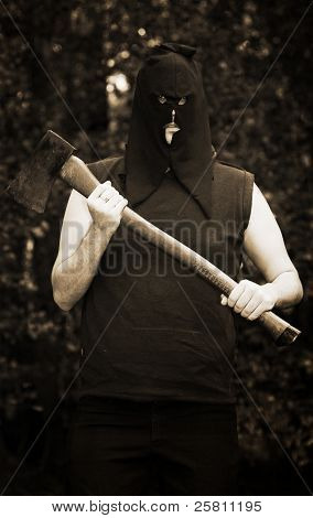 Executioner With Axe