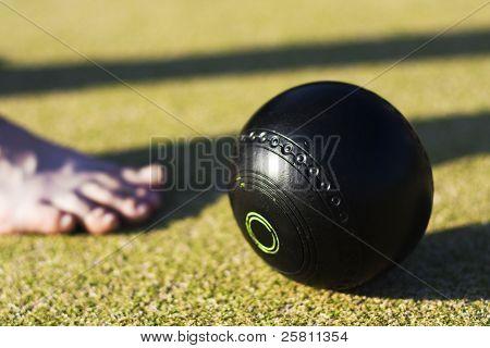 Bowls Foot Forward