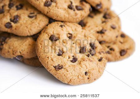 Choc Chip Cookie Mound