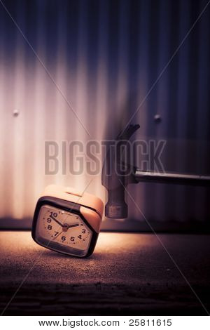 Clock The Hammer