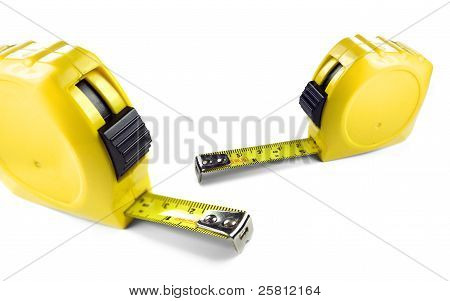 Yellow Tape Measures