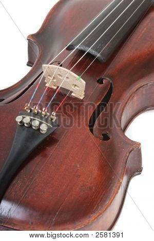 Violin Close Up.