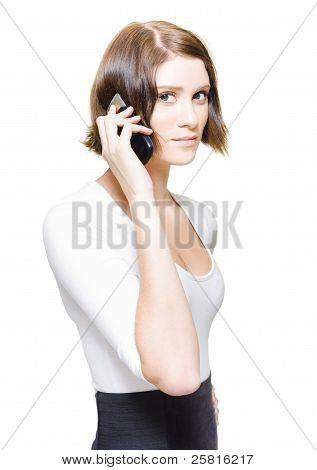 Confident Sales Representative Selling Business Deals